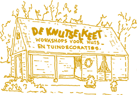 Logo-knutselkeet goudgeel